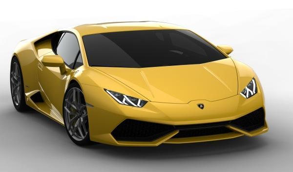 Lamborghini Huracán LP 610-4 frontal