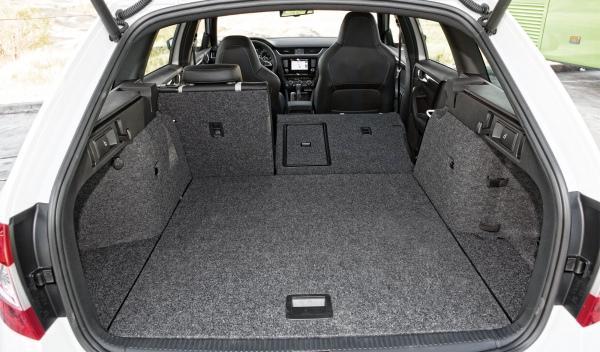Skoda Octavia Combi RS maletero