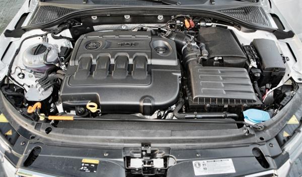 Skoda Octavia Combi RS motor