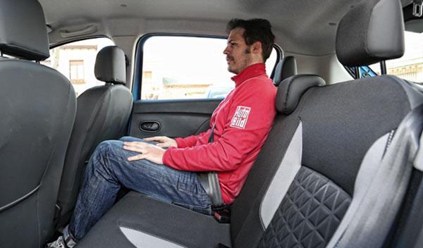 Dacia Sandero Stepway asientos
