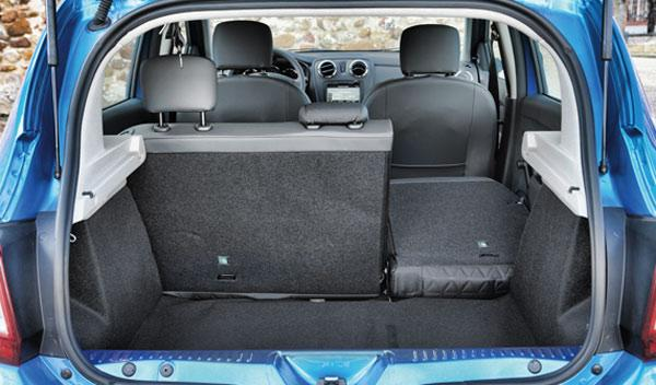 Dacia Sandero Stepway maletero