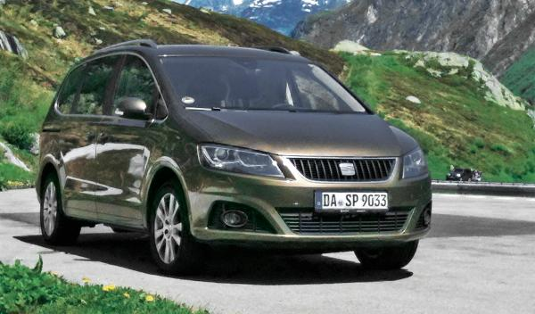 seat alhambra frontal