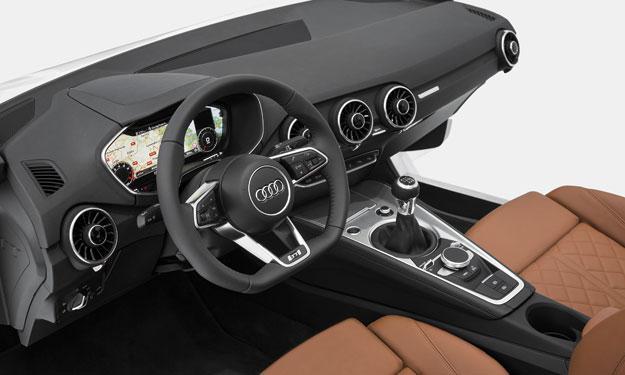 Audi TT salpicadero