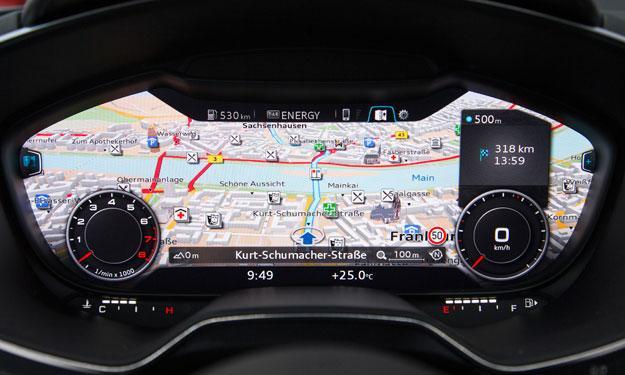 Audi TT navegador