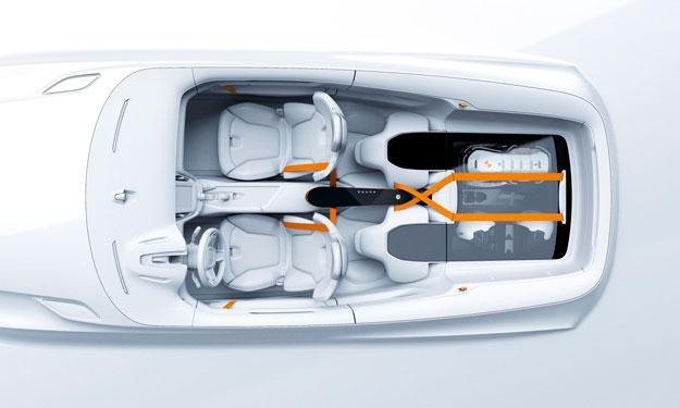 Volvo Concept XC Coupé interior