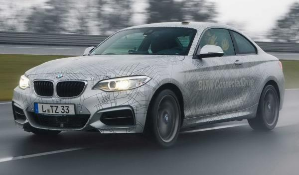 BMW 235i conected frontal