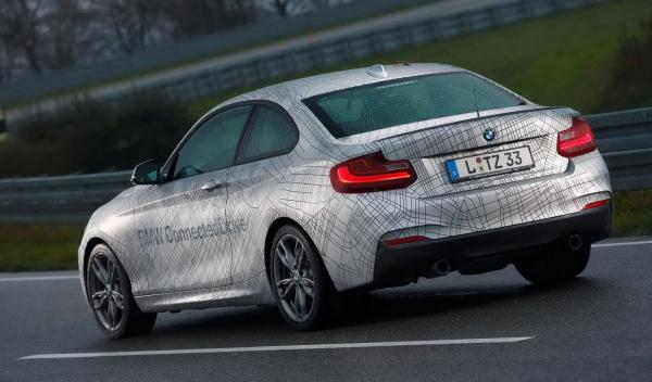 BMW 235i conected trasera