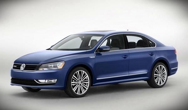 Volkswagen Passat BlueMotion Concept delantera