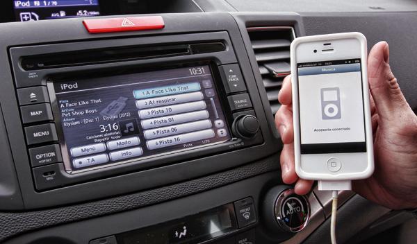 Honda CRV 1.6 i-DTEC conectividad