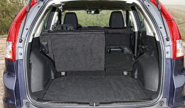 Honda CRV 1.6 i-DTEC maletero