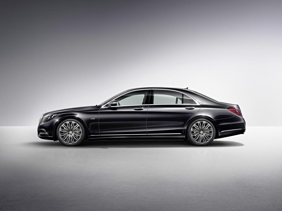 Mercedes S 600 lateral