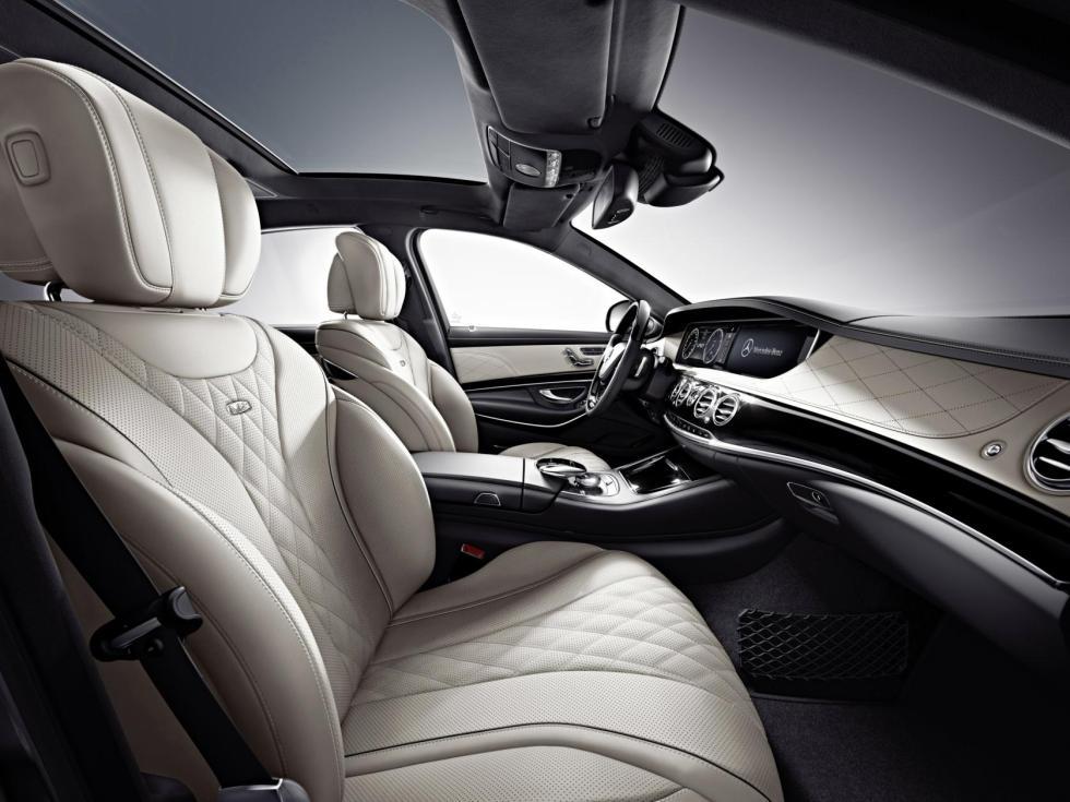 Mercedes S 600 2014 interior