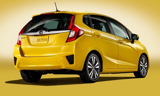 Honda Fit / Jazz 2015 trasera