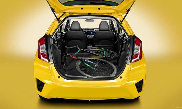 Honda Fit / Jazz 2015 maletero