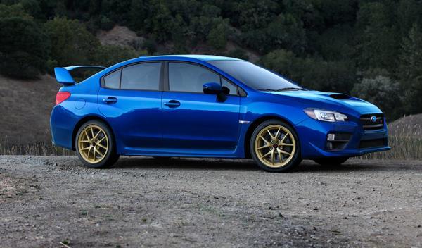 Subaru WRX STI 2015 lateral