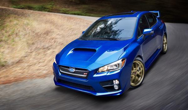 Subaru WRX STI 2015 frontal