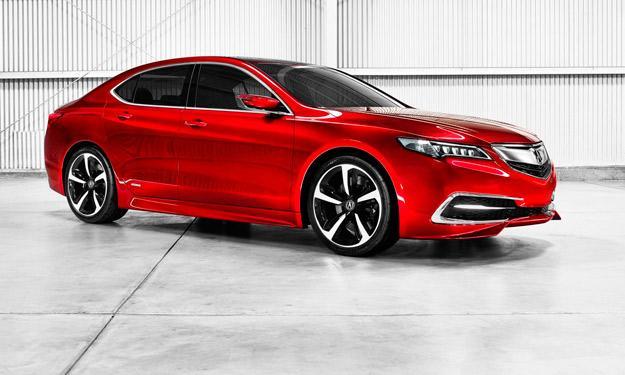 Acura TLX Concept delantera