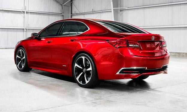 Acura TLX Concept trasera