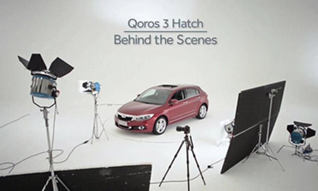 Qoros 3 Hatch techo