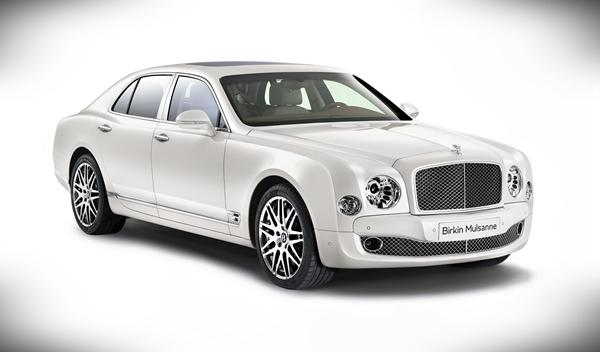 Bentley Birkin Mulsanne frontal