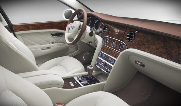 Bentley Birkin Mulsanne interior