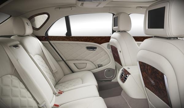 Bentley Birkin Mulsanne plazas traseras
