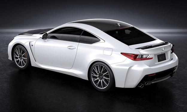 Lexus RC F Carbon Package trasera