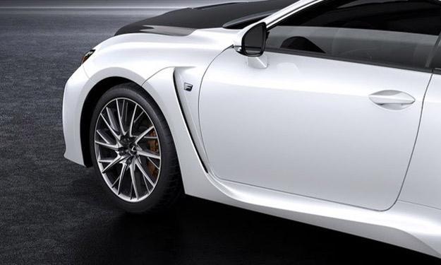 Lexus RC F Carbon Package llantas