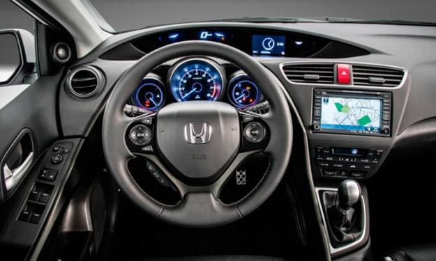 Honda Civic 2014 interior