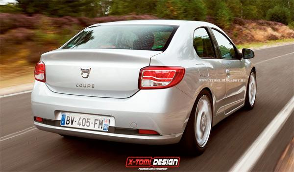 Dacia Coupe 2014 trasera