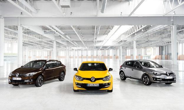 Renault Mégane 2014 delantera