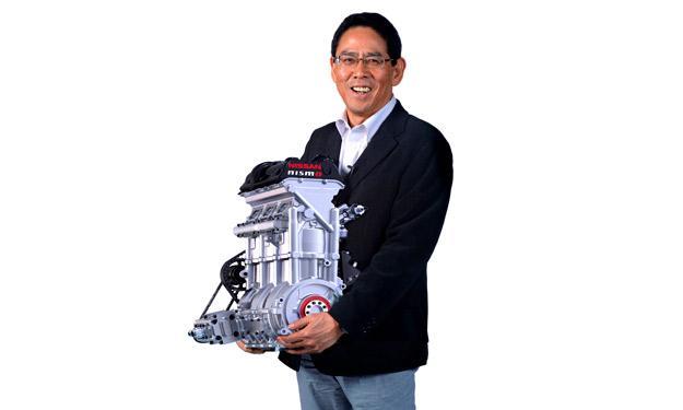 Nissan Zeod RC motor