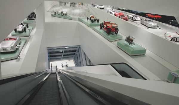 museo porsche entrada