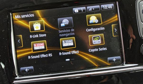 Renault Clio GT pantalla