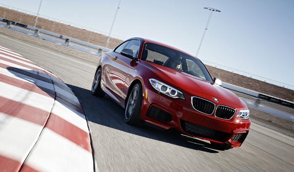 BMW M235i circuito