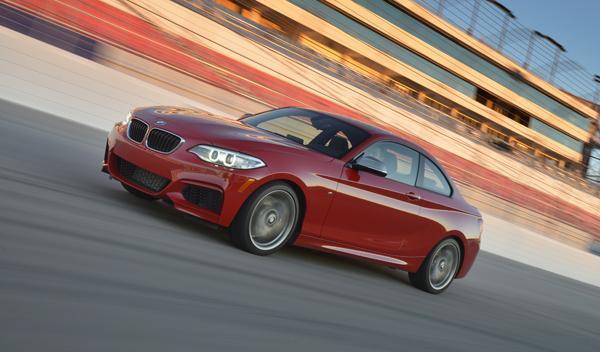 BMW M235i frontal