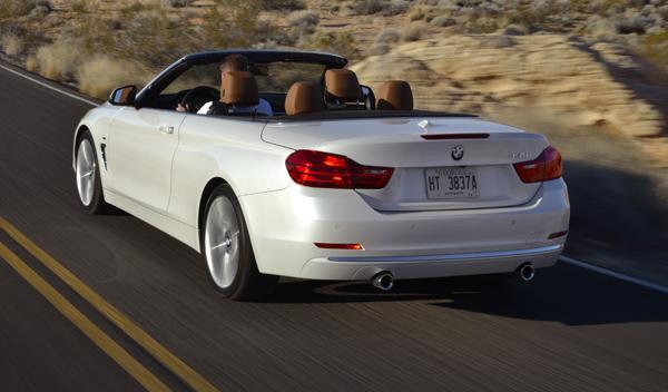 BMW 435i Cabrio trasera