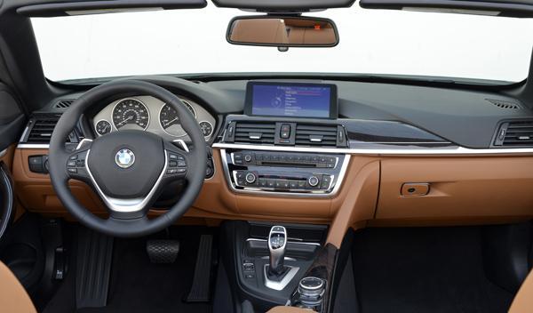 BMW 435i Cabrio interior