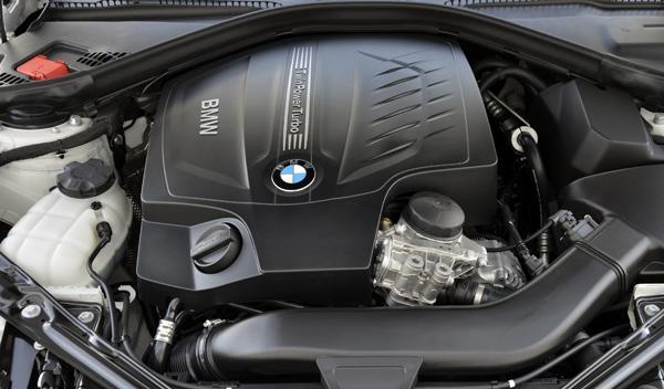 BMW 435i Cabrio motor