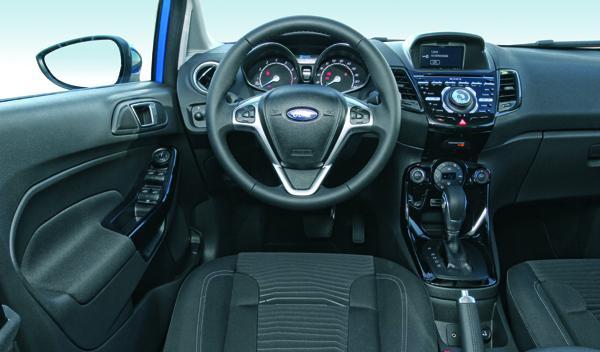 Ford Fiesta 2013 salpicadero