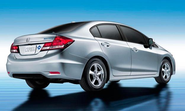 Honda Civic gas trasera