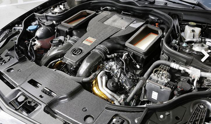 Brabus CLS 850 motor