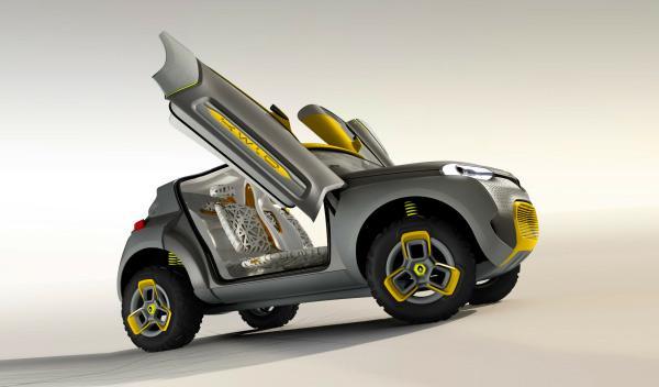 Puertas del Renault Kwid Concept