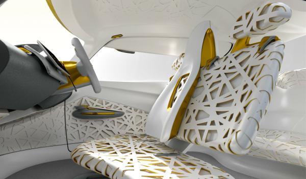 Asientos del Renault Kwid Concept