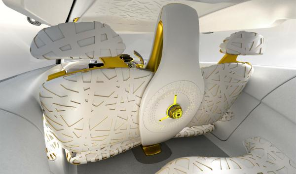 Habitáculo del Renault Kwid Concept
