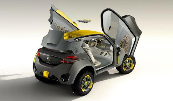 Trasera del Renault Kwid Concept