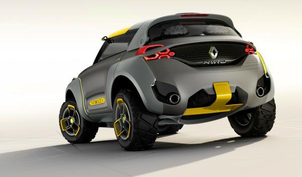 Zaga del Renault Kwid Concept
