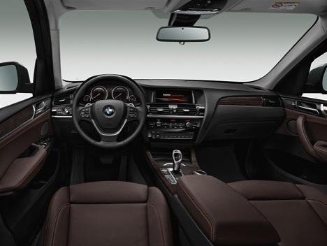 BMW X3 2014 cuadro