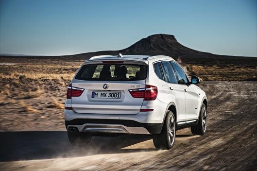 BMW X3 2014 movimiento