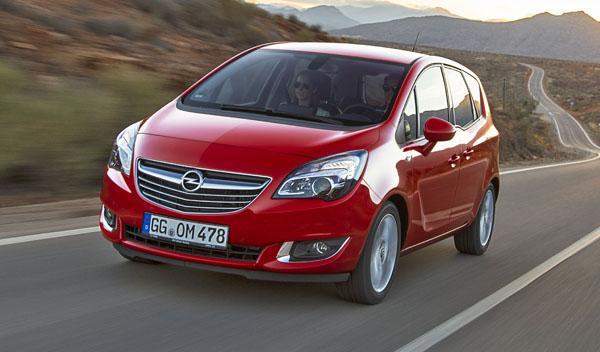 Opel Meriva 2014 frontal